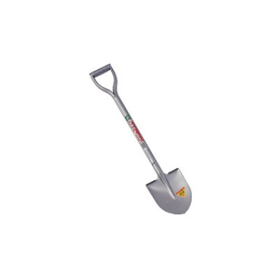 Photo1: Silver gardening scoop