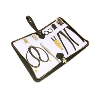 Photo1: Bonsai tool 5-pieces set (YAGIMITSU)