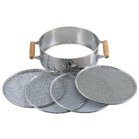 Stainless steel sieve (with handle)