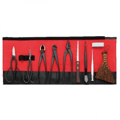 Photo1: Bonsai tool 10-pieces set (KIKUWA)