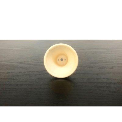 """Photo4: Satsuma Ware """"Satsuma"""" / Silver Medaka """"Gin Medaka"""" / Chin Jukan Bonsai Pot"""